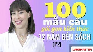 Học Tiếng Anh Online (Trực Tuyến) - 100 MẪU CẤU TRÚC NGỮ PHÁP CƠ BẢN (P2)