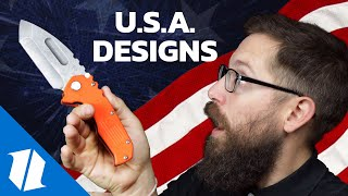 The Freest Knives Ever! - Great American Knife Designs | Week One Wednesday