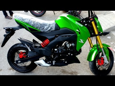 KAWASAKI IN PAKISTAN 150cc MINI REPLICA PRICE IN PAKISTAN FULL REVIEW & TOP SPEED TEST ON PK BIKES