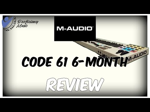 M-Audio Code 61 6-month review