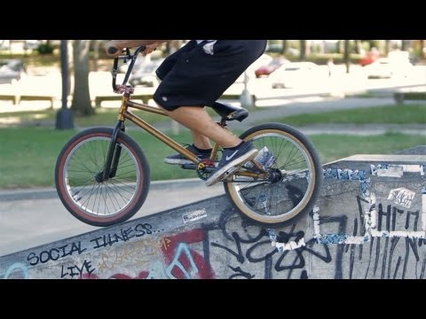 How to Do a Feeble to 180 | BMX Bike Tricks