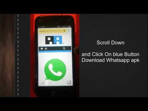 How to Install Whatsapp on Amazon Fire Phone