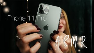 [ASMR] iPhone 11 Pro Unboxing – whispering, tapping, tracing