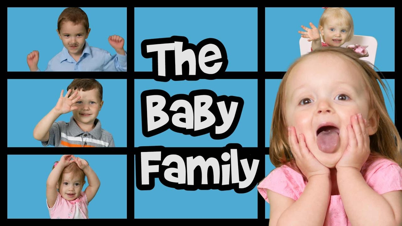 Baby family song finger family song nursery rhymes adorable babies