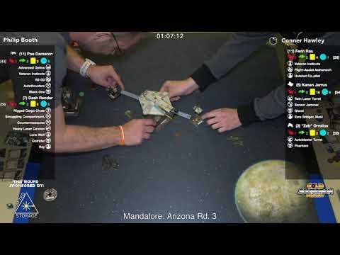 Philip Booth vs Conner Hawley Round 3 Mandalore Glendale 2018