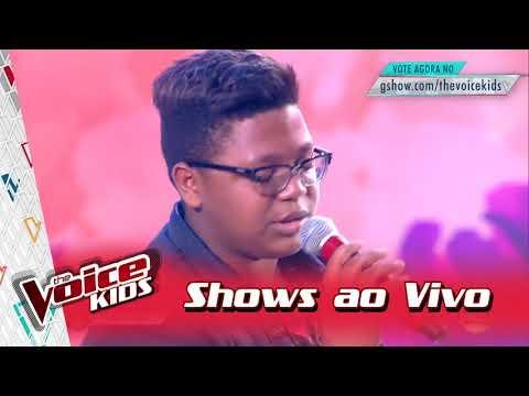 Pedro Sousa canta 'Se Eu Quiser Falar...' nos Shows ao Vivo – 'The Voice Kids Brasil' | 3ª Temporada