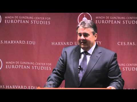 Sigmar Gabriel of Germany on transatlantic trade and sustainable progress
