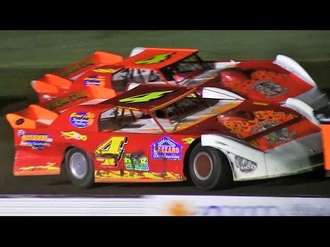 Late Model Feature at Mt Pleasant Speedway on 7-29-16
