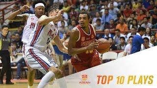 2016-2017 ASEAN Basketball League | Top 10 Plays - Week 1