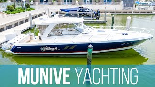 Intrepid Powerboats 475 Sport Yacht (2018) with Quad Yamaha 300 HP Outboard Engines - Boat Review