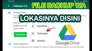 Cara Melihat Backup Whatsapp Di Google Drive Agar Dapat Memulihkan Cadangan Wa Youtube