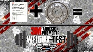 3m Adhesion Promoter Weight Test