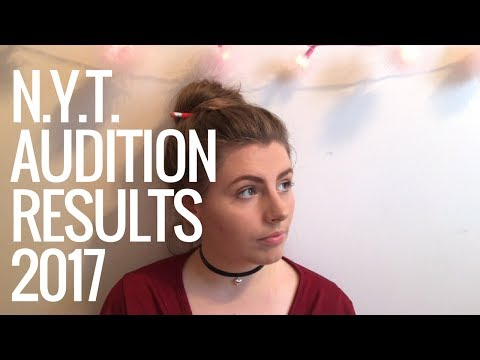 ❀ update: national youth theatre results (2017) ❀