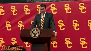 New USC athletic director Mike Bohn introductory press conference