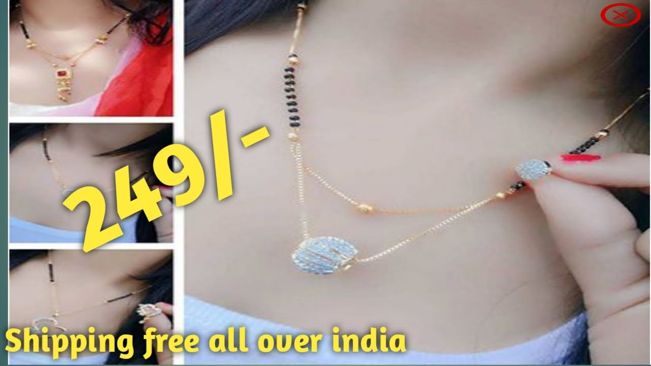 Beautiful Alloy Mangalsutra|American diamond|Free shipping|COD