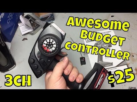 Good Budget RC Transmitter. Cheap 3 Channel Austar AX5S Controller.