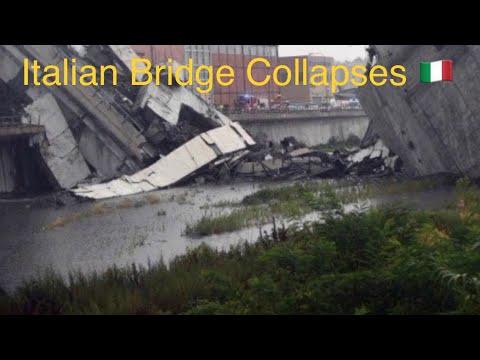 Extreme Weather Event/Genoa, Italy Bridge Collapse/ August, 14, 2018
