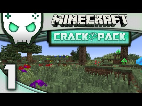 Minecraft Modded Crack Pack Ep 1: Above the Clouds