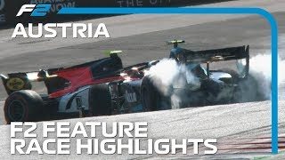 Formula 2 Feature Race Highlights | 2019 Austrian Grand Prix
