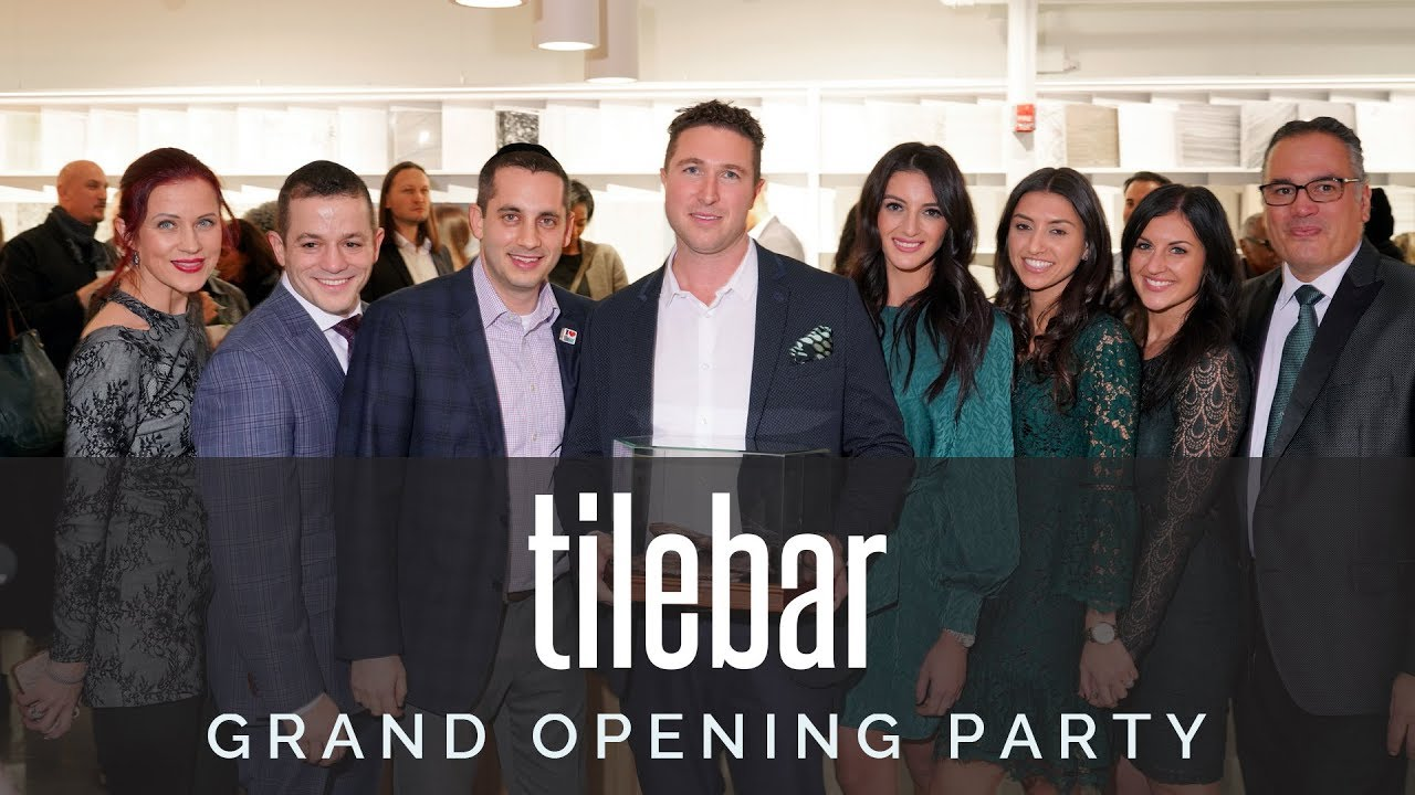 tilebar nyc showroom grand opening party
