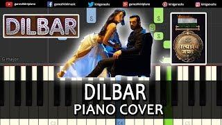 Dilbar Song Satyameva Jayate | Piano Cover Chords Instrumental By Ganesh Kini