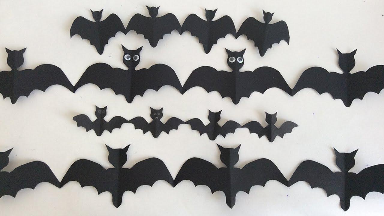 Ideas para halloween como hacer murcielagos decoraciones para halloween decorations for - Murcielagos para halloween ...