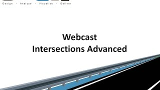 Civil Site Design - Webcast - Intersections Advanced