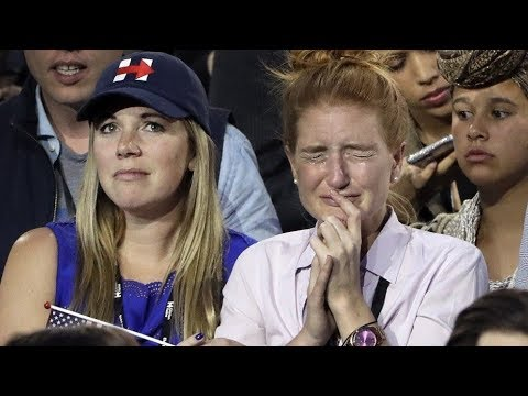 Butt-Hurt Crying Hillary Voters Compilation
