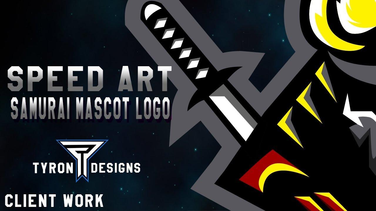 Samurai Esports Logo Mascot Logo Tyron Designs Youtube