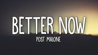 Gambar cover Post Malone - Better Now (Lyrics)