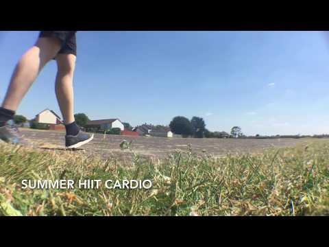 HIIT Summer cardio beginner workout