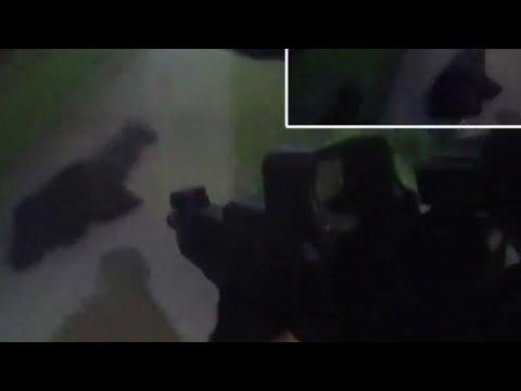 Police floor knifeman with taser in Birmingham