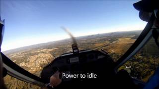 How to fly a Circuit! Tecnam P92 Echo