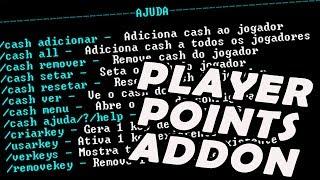 ✖ Plugin PlayerPointsAddon - ☾1.10, 1.9, 1.8x, 1.7x☽✖ Novo plugin de Cash #Melhor PT-BR