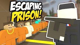 ESCAPING PRISON - Unturned Jailbreak RP | Taking Over The Prison!