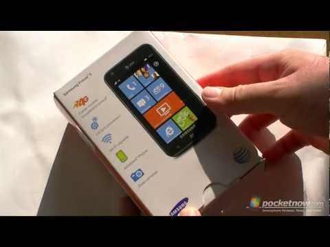 AT&T Samsung Focus S Unboxing