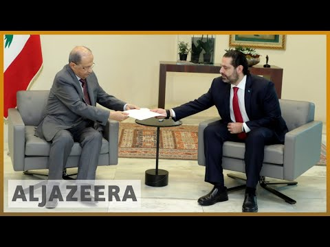 Lebanon: PM Hariri submits resignation to president, protests continue