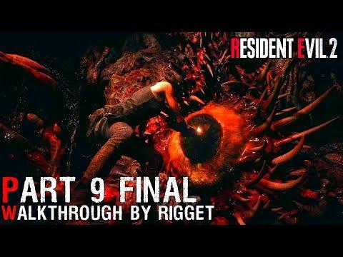 """Resident Evil 2 Remake CLAIRE (2) Прохождение Часть 9 """"Эволюция G"""" Настоящий ФИНАЛ!"""