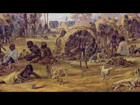 13 143355 - Alexander Schramm 'Adelaide, a tribe of natives on the banks of the river Torrens' 1850