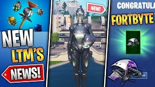 Utopia Skin, Fortbyte Glider, New LTM's Soon, Monster Update! (Fortnite News)