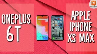 OnePlus 6T vs Apple iPhone XS Max: Comparison overview [Hindi हिन्दी]