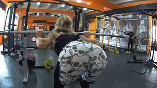 Female Fitness Motivation! Best Girl! Murmansk