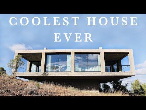 THE COOLEST HOUSE EVER ! (minimalist interior design house tour)