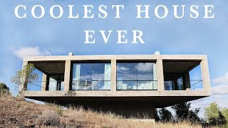 THE COOLEST HOUSE EVER ! (minimalist house tour) thumbnail
