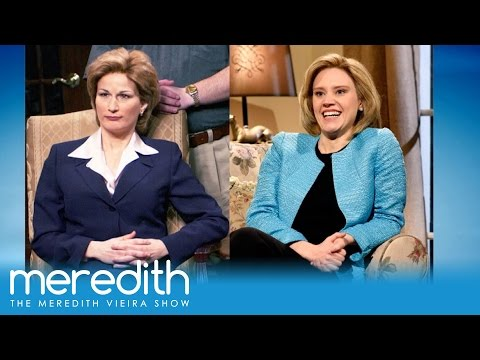 Ana Gasteyer on Kate McKinnon's Impression of Hillary Clinton!  The Meredith Vieira