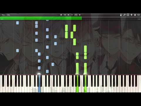 [Synthesia] (Hard Piano Version) (Short-sized) Diabolik Lovers - Midnight Pleasure [Diabolik Lovers]