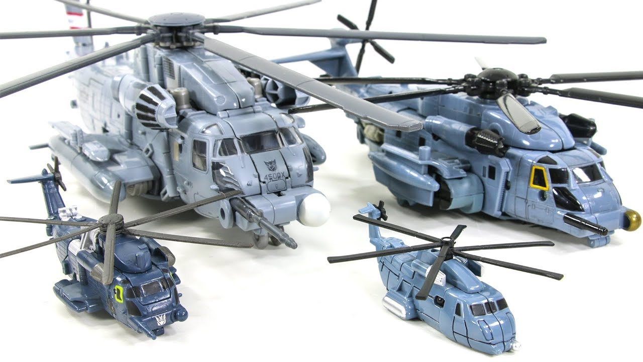 Transformers Legend Commander Voyager Leader Class Decepticon BLACKOUT  helicopter Vehicle Robot Toys