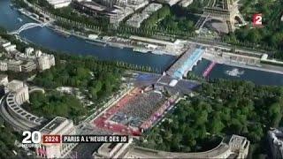VIDEO. Paris à l'heure des JO