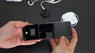 Smart Plus iPhone 5 y 5S Batería y funda (Review)