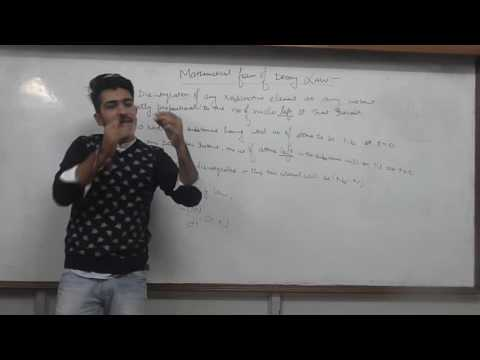 Nuclei  Radioactive Decay Equ  & Numericals  Lecture 4